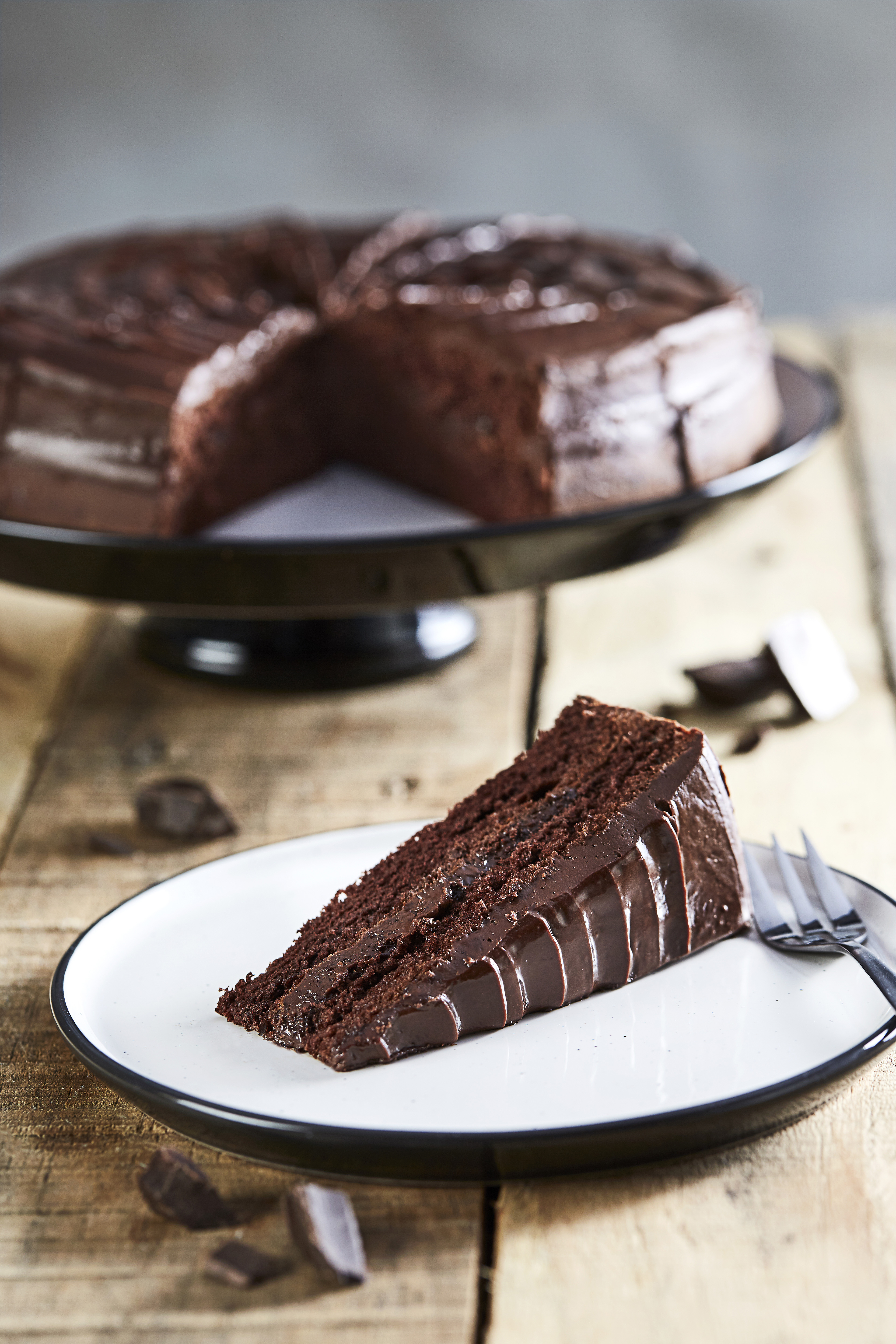 Country Range Chocolate Fudge Cake 1 X 16 Portions Country Range